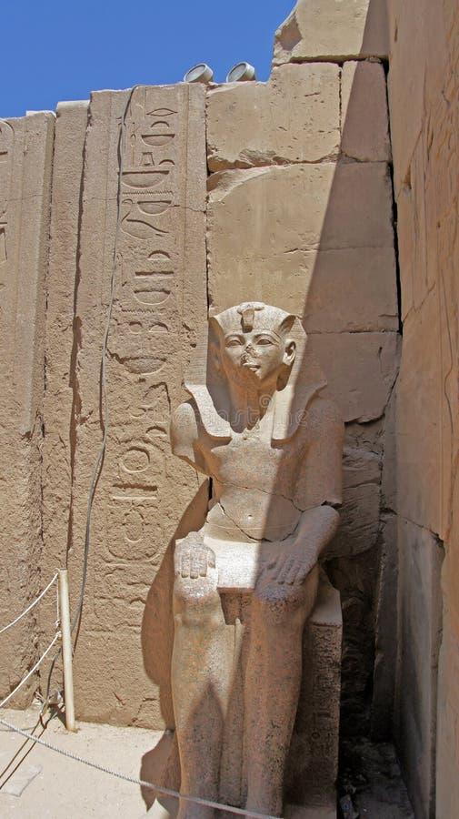 Templo del karnak imagen de archivo libre de regalías