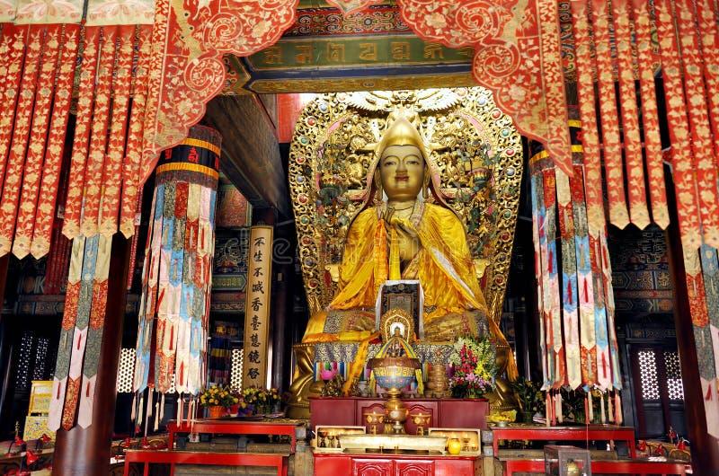 Templo del lama en Pekín fotos de archivo libres de regalías