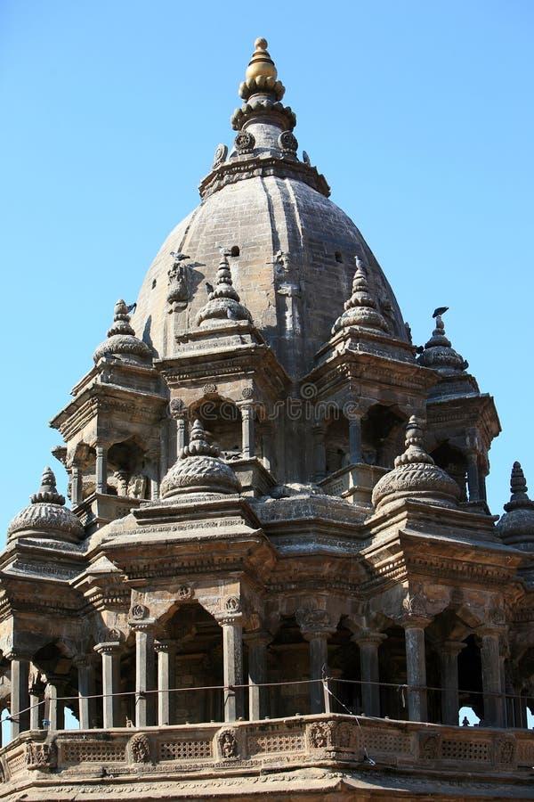Templo del mandir de Krishna fotos de archivo