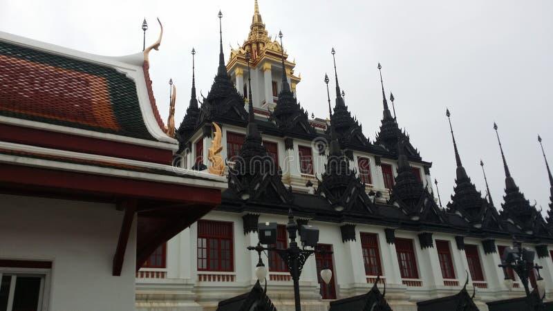 Templo del metal en Bangkok fotos de archivo