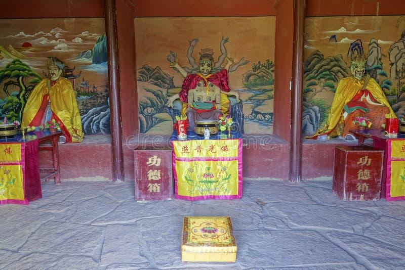 Templo del ` s de Dragon King imágenes de archivo libres de regalías