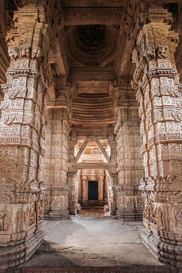 Templo del Sas Bahu imagen de archivo