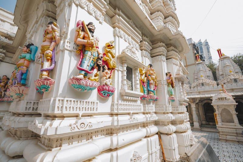 Templo del Sas Bahu en la ciudad de Gwalior, la India imágenes de archivo libres de regalías