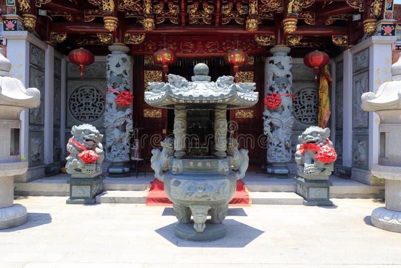 Templo del Taoist fotografía de archivo