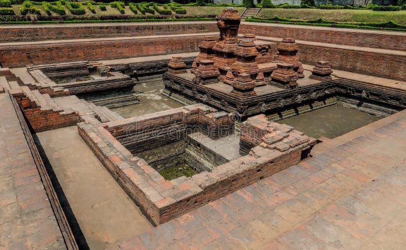 Templo del tikus de Candi imagen de archivo libre de regalías