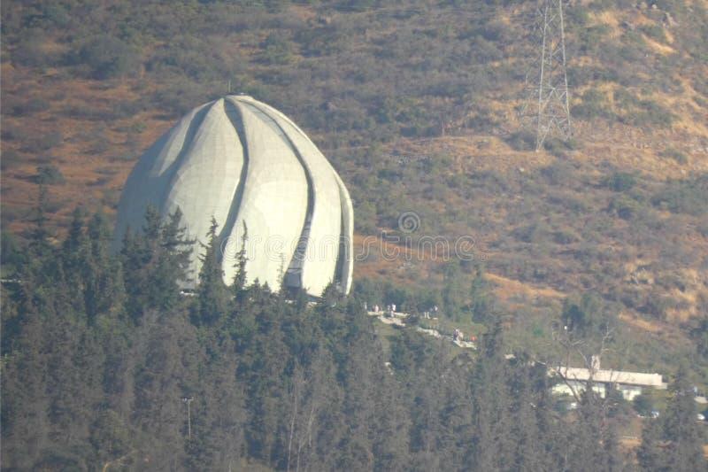 Templo do ` à do ¡ de Bahà imagem de stock