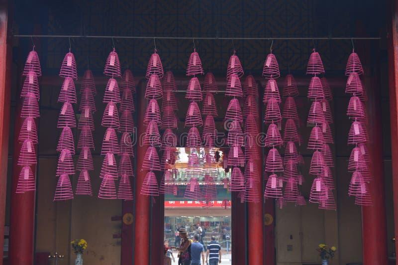 Templo do budhist de Chiinese imagem de stock