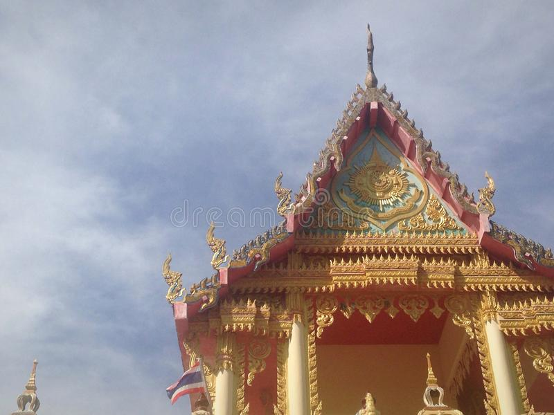 Templo do budismo fotos de stock royalty free