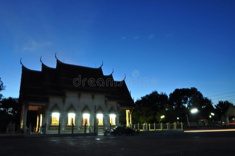 Templo do Céu tailandês imagem de stock