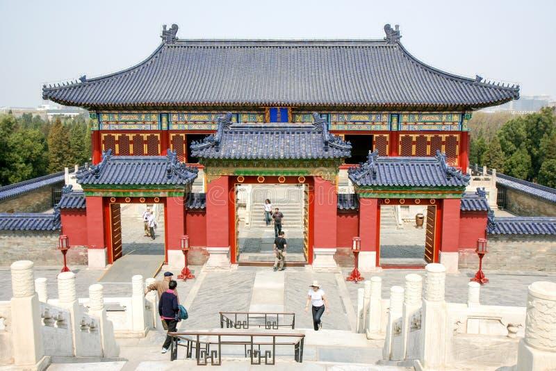 Templo do céu fotografia de stock royalty free