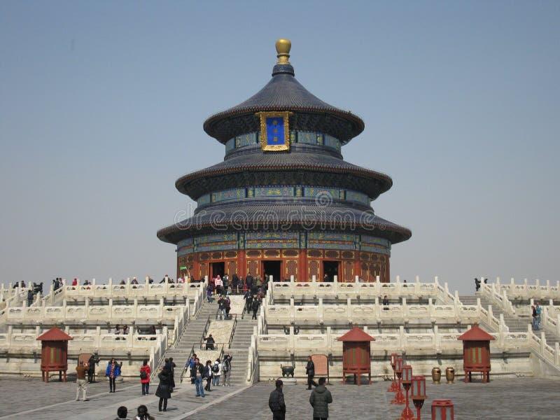 Templo do Céu no Pequim fotografia de stock