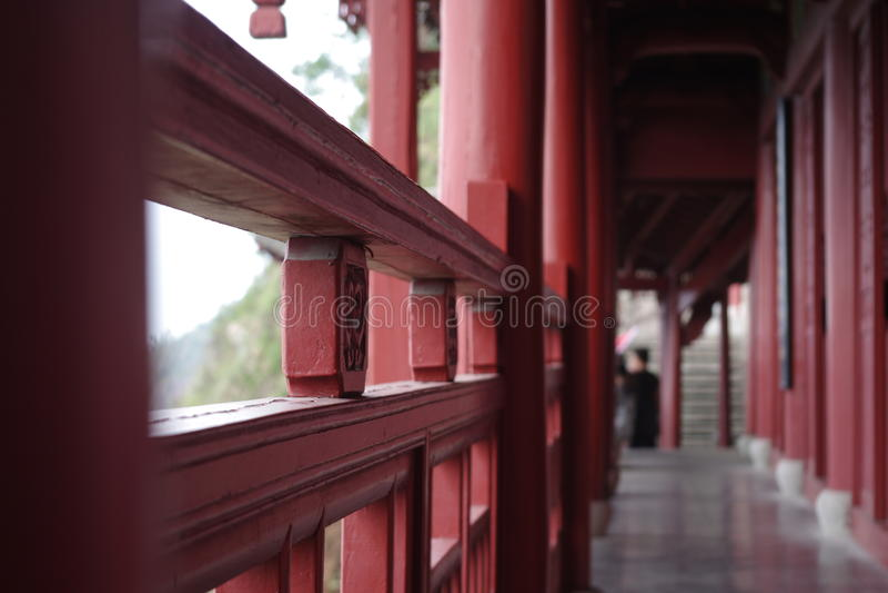 Templo do corredor foto de stock royalty free