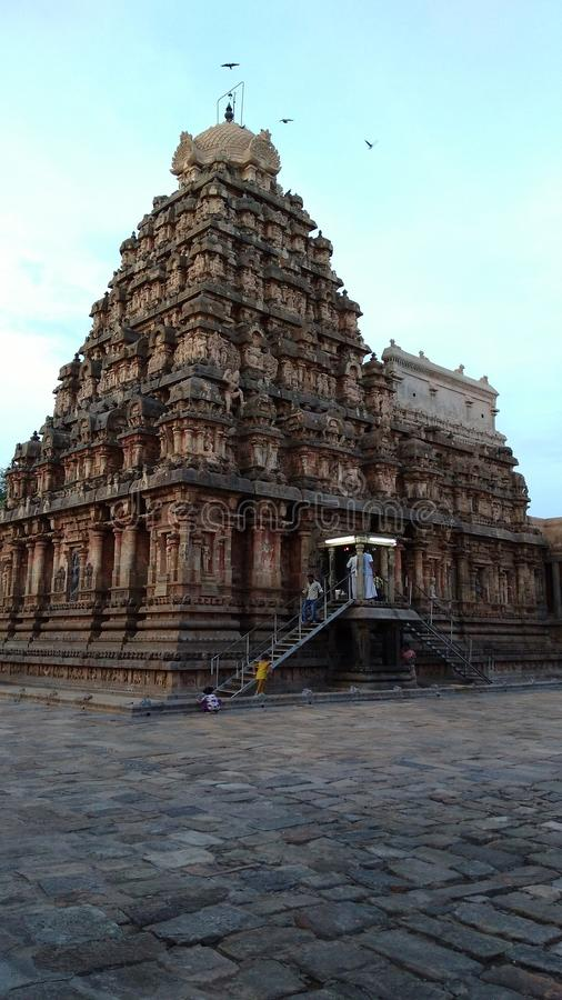 Templo do daarasuram de Kumbakonam fotos de stock royalty free