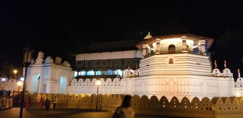 Templo do dente no ???????? de Kandy fotos de stock royalty free