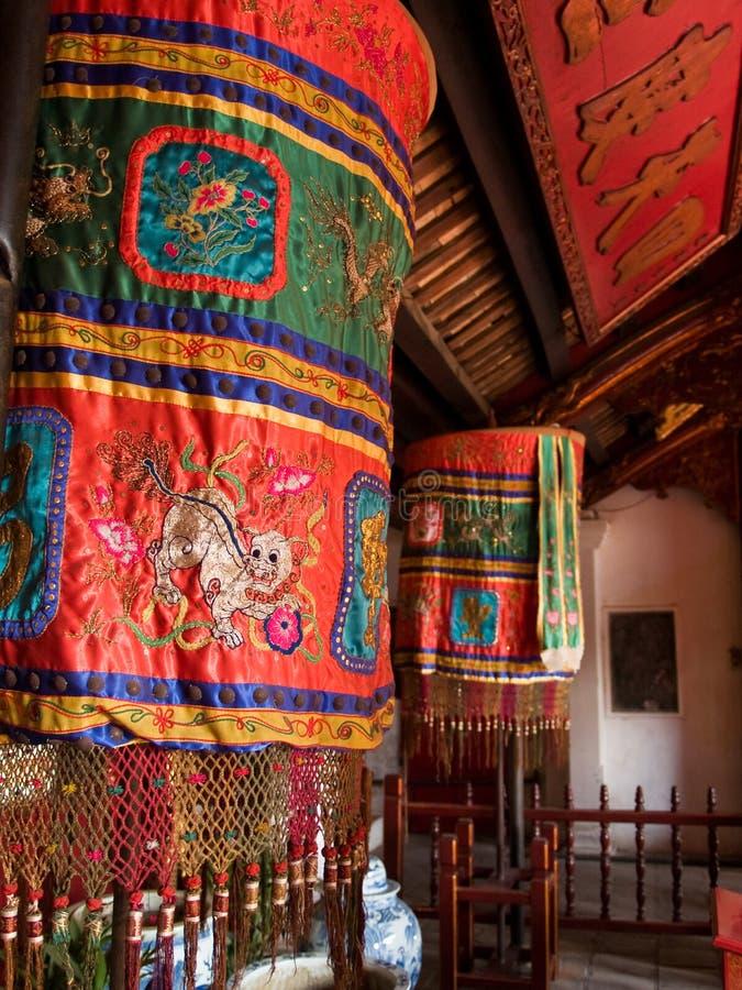 Templo do filho de Ngoc do antro em Hanoi foto de stock royalty free