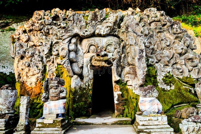 Templo do gajah de Goa fotos de stock royalty free