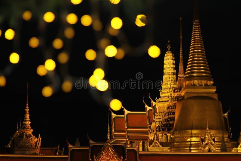 Templo do Glitter foto de stock