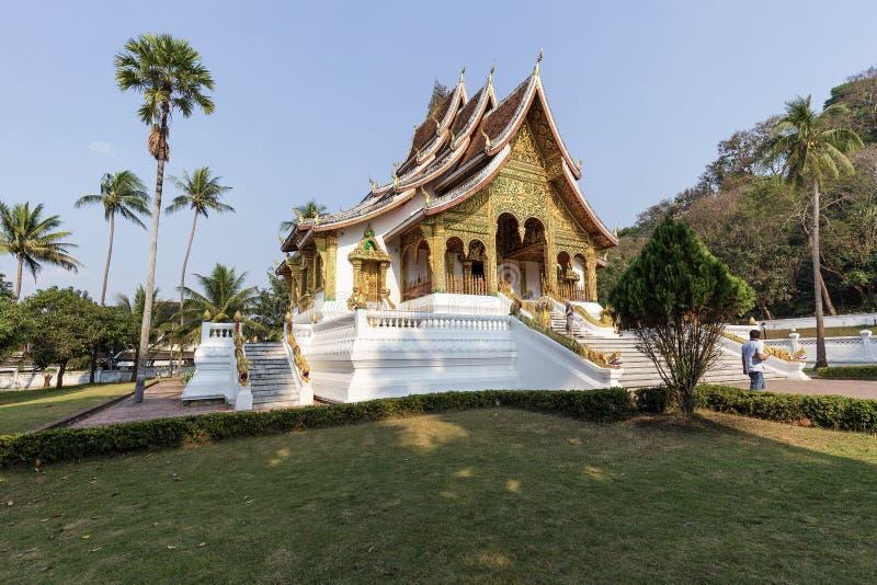 Templo do golpe de Pha do espinho, Luang Prabang, Laos imagens de stock royalty free