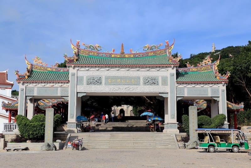 Templo do hou de Thean, templo do mazu em meizhou fotos de stock