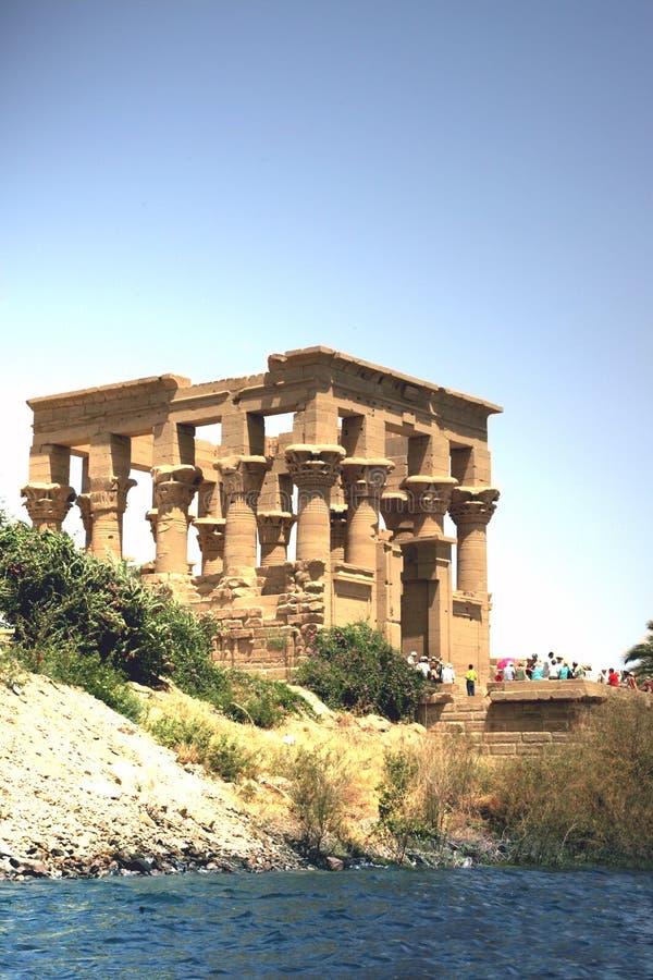 Templo do Isis foto de stock
