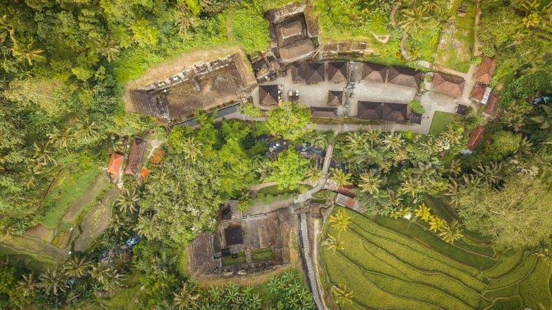 Templo do kawi de Gunung baseado no ubud, bali fotografia de stock royalty free