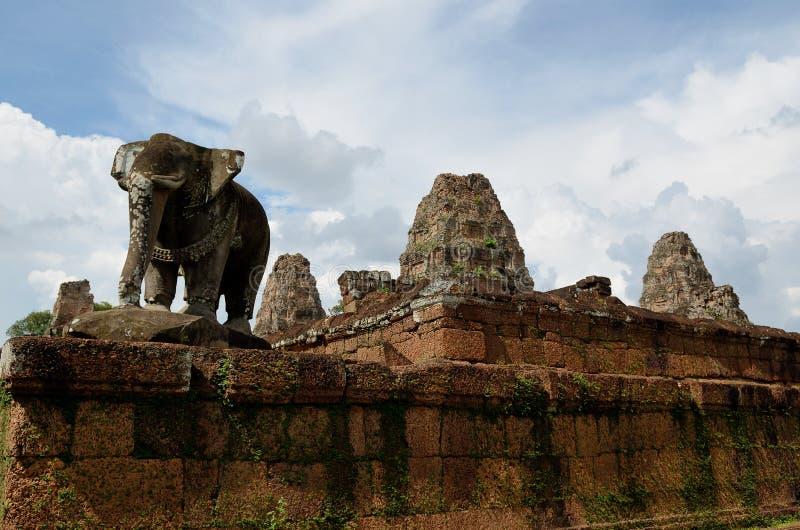 Templo do leste de Mebon fotos de stock