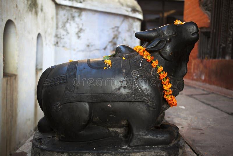TEMPLO DO NEPALI DE VARANASI - INDIA foto de stock royalty free