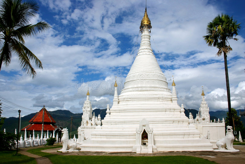 Templo do Pagoda foto de stock royalty free