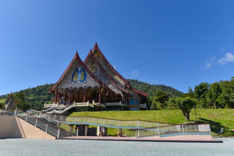 Templo do rapaz de Huay em Tailândia fotos de stock royalty free
