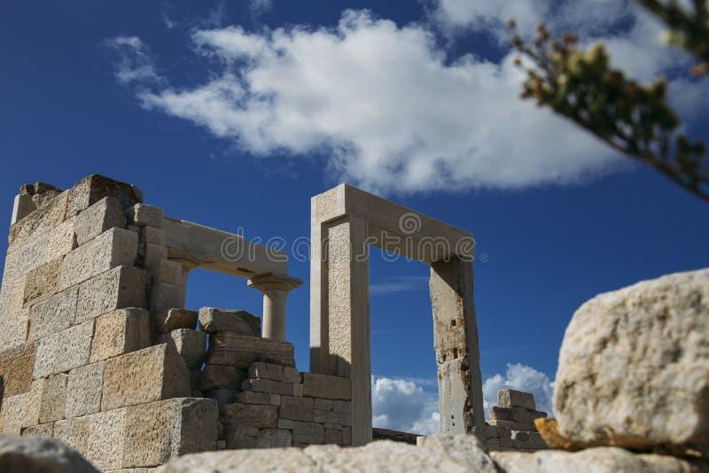 Templo do ` s de Dimitra fotografia de stock