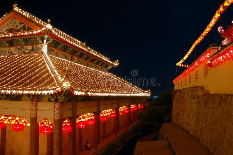 Templo do si do lok de Kek foto de stock royalty free
