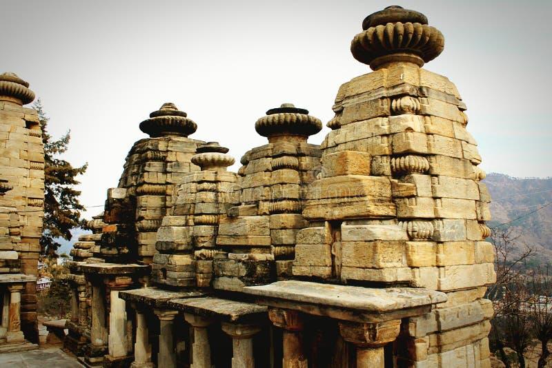 Templo do sol de Katarmal fotos de stock royalty free