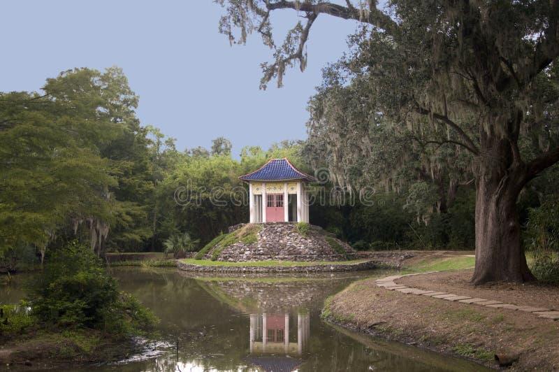 Templo do sul de Buddish fotos de stock