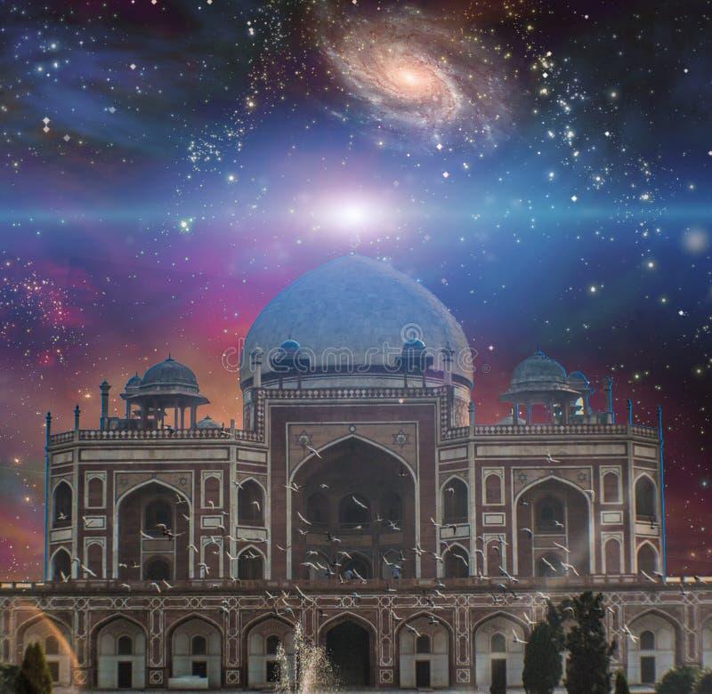 Templo do universo ilustração do vetor