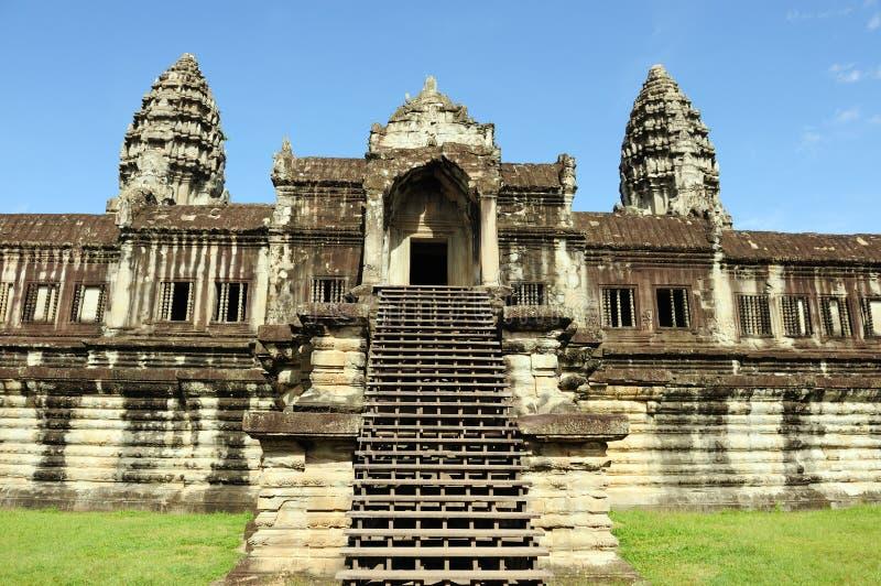 Templo do wat de Cambodia - de Angkor imagens de stock