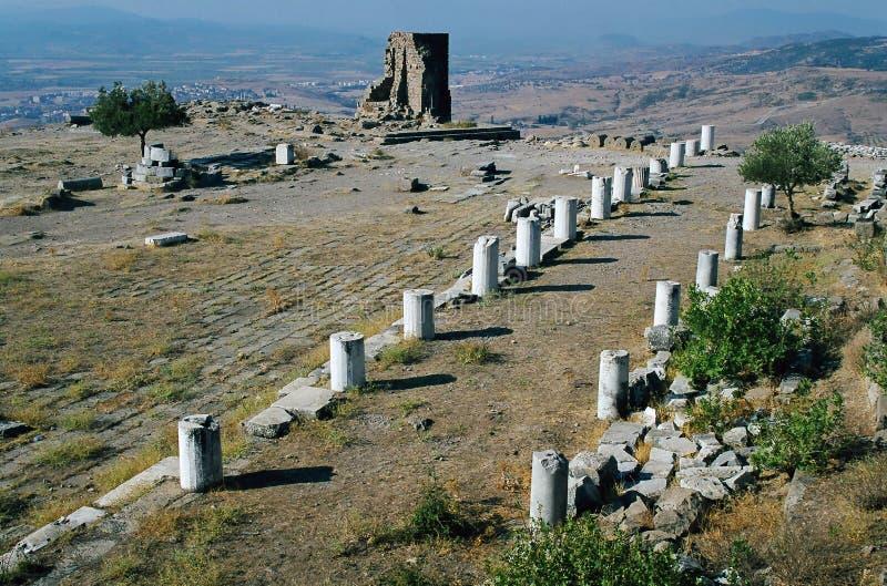 Templo do Zeus, Pergamon imagem de stock royalty free