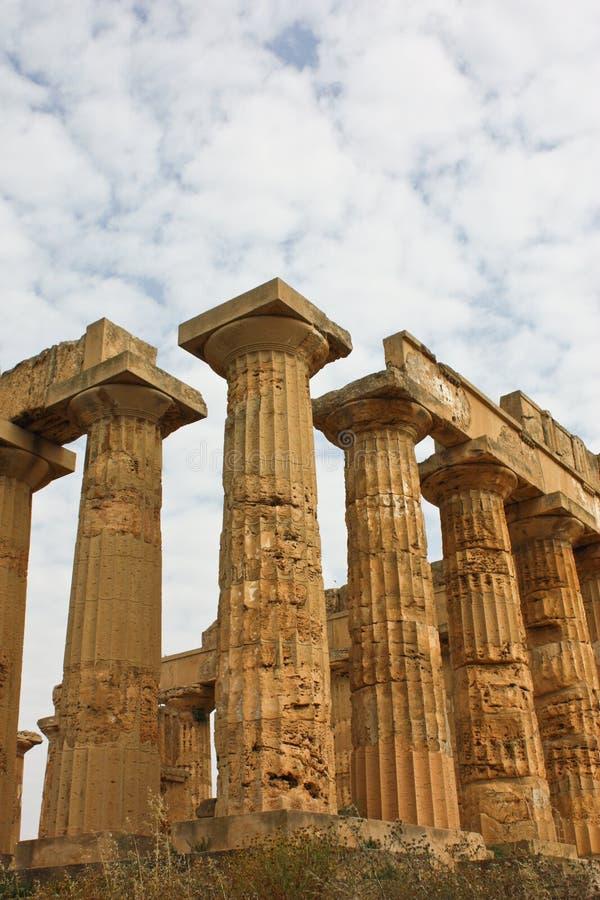 Templo dos magnum Grecia fotografia de stock