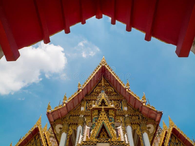 Templo dourado imagem de stock royalty free