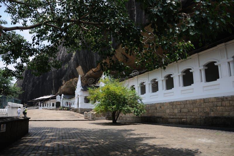 Templo dourado de Dambulla Museu budista Sri Lanka ?sia fotos de stock