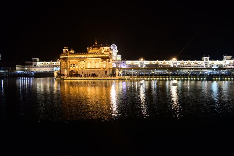 Templo dourado India fotografia de stock