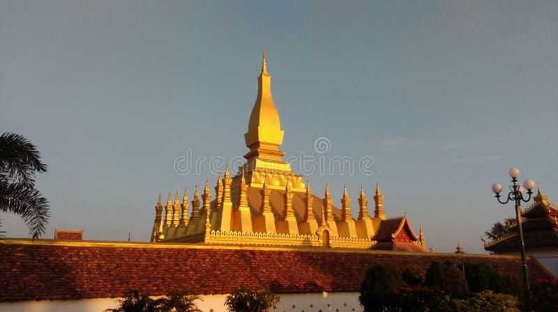 Templo dourado foto de stock royalty free