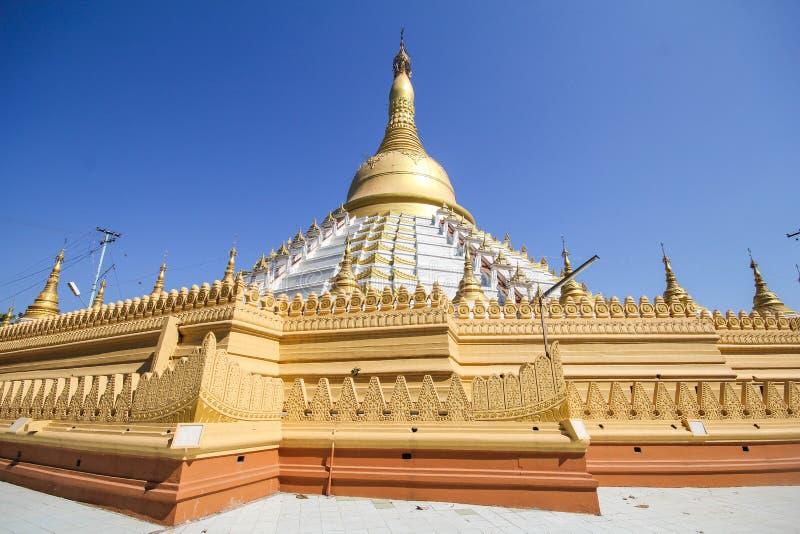 Templo e pagode em Bago, Myanmar fotos de stock
