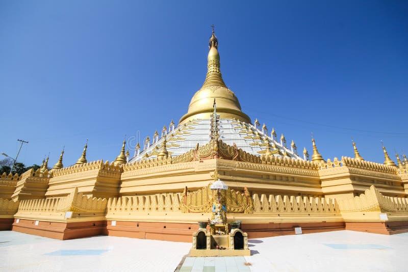 Templo e pagode em Bago, Myanmar foto de stock royalty free