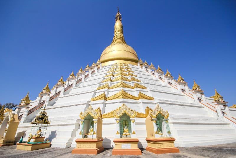 Templo e pagode em Bago, Myanmar fotografia de stock royalty free