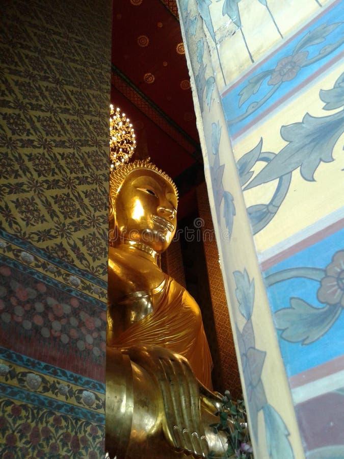 Templo em Banguecoque de Tailândia fotografia de stock