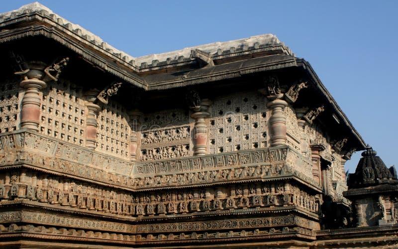 Templo em Belur foto de stock