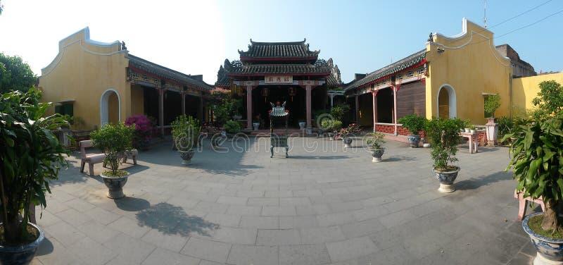 Templo em Hoi An, Vietname, 3Sudeste Asiático imagens de stock royalty free