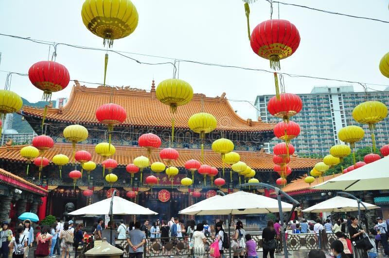 Templo em Hong Kong fotos de stock royalty free