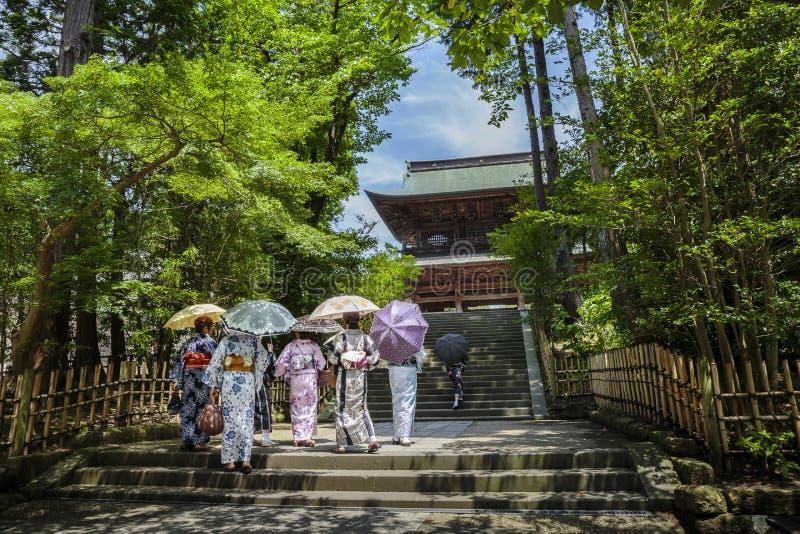 Templo em Kamakura fotografia de stock royalty free