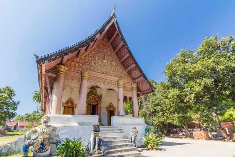 Templo em Luang Prabang, Laos fotos de stock royalty free